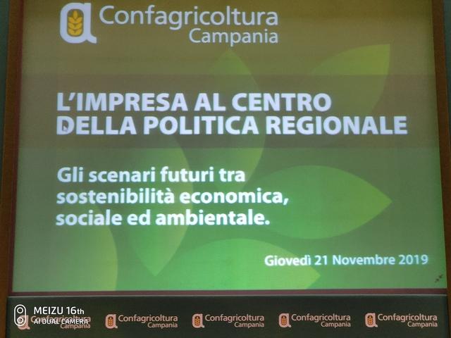 """Convegno 21 Novembre """"L'impresa al centro della politica regionale"""""""